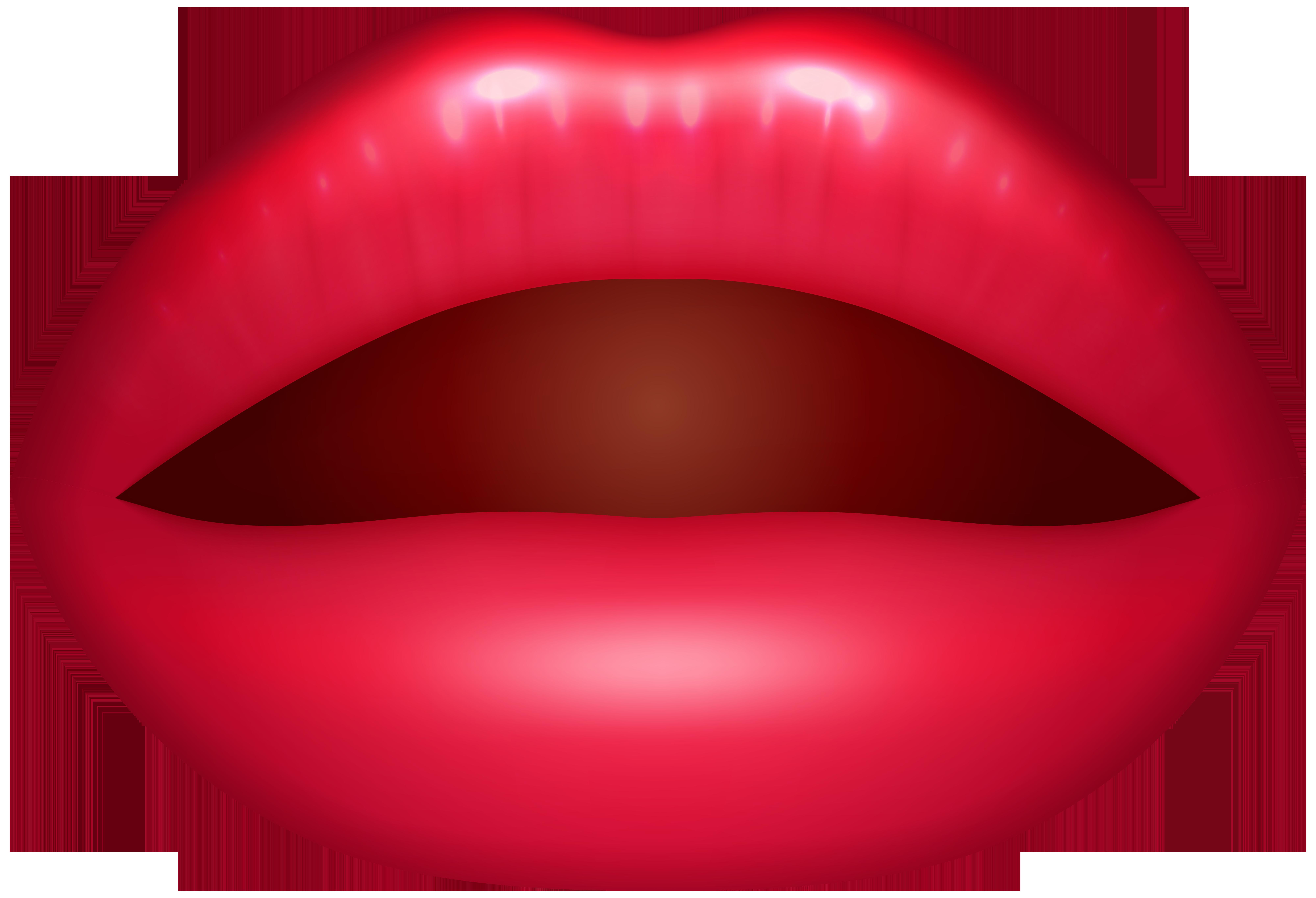Open Lips PNG Clip Art.