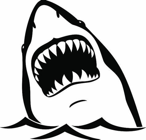 Shark Mouth Vector at GetDrawings.com.