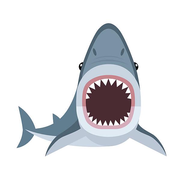 6318 Shark free clipart.