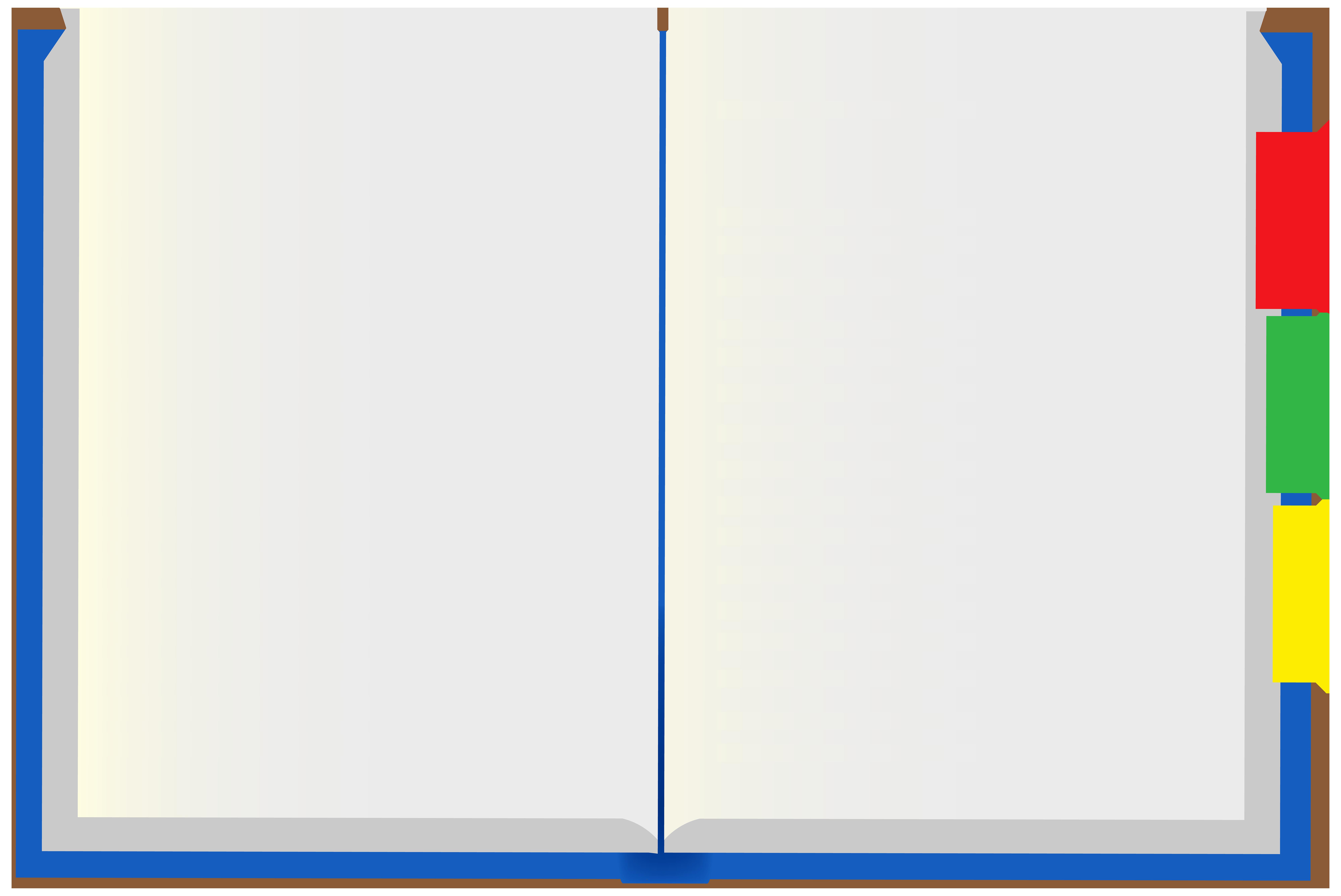 Open Notebook Transparent Image.