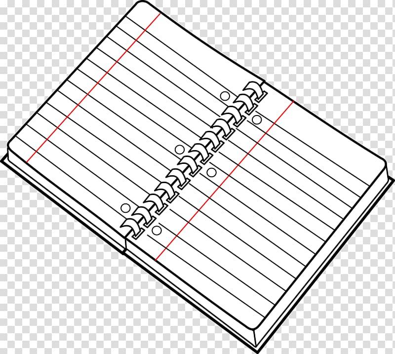 Paper Notebook Spiral , Open Notebook transparent background.