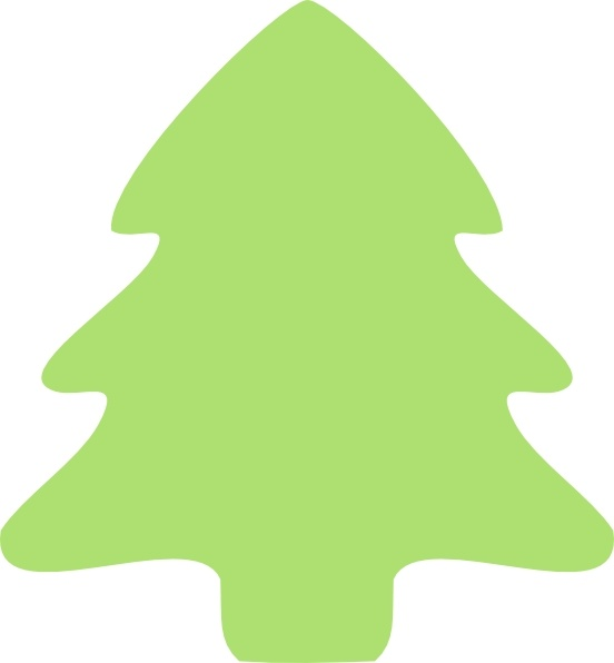 Christmas Tree Icon clip art Free vector in Open office.