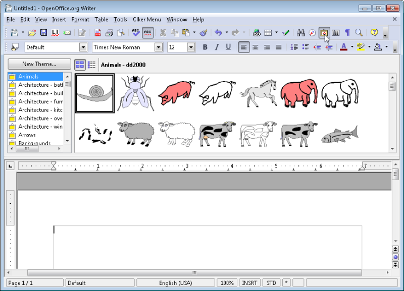 Openoffice clipart - Clipground