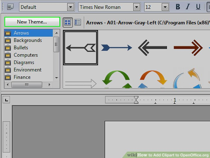 How to Add Clipart to OpenOffice.org: 8 Steps (with Pictures).