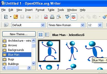 OpenOffice.org New User Orientation.