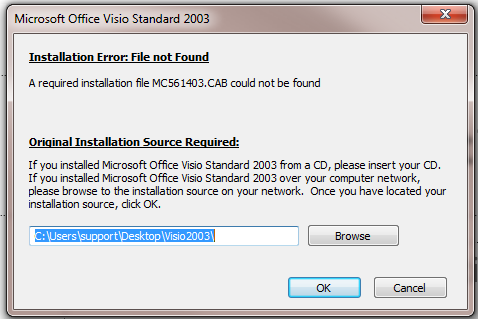 Insert Clipart causing install loop problem for MS Office apps.