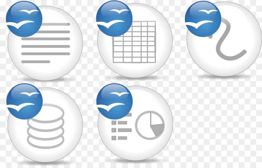Microsoft Office Icon clipart.