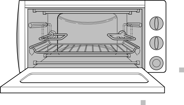 Open Oven Cliparts.