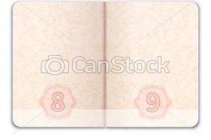 Open passport clipart 2 » Clipart Portal.