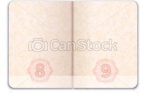 Open passport clipart 2 » Clipart Portal.