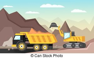 Open pit mine Clipart and Stock Illustrations. 38 Open pit mine.