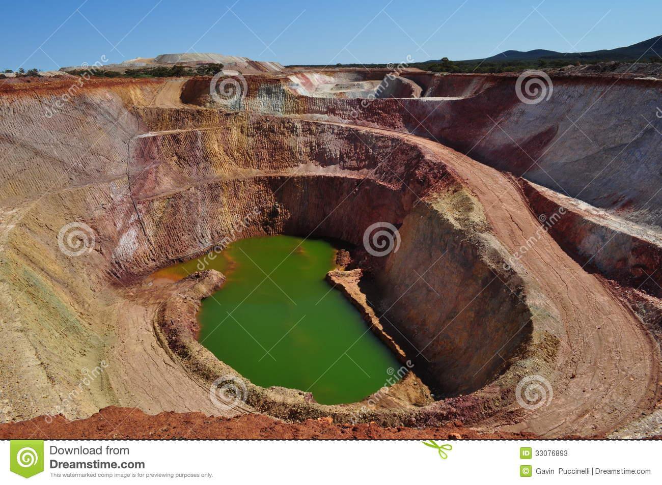 Quarry Open Pit Mine Mining Stock Photos.