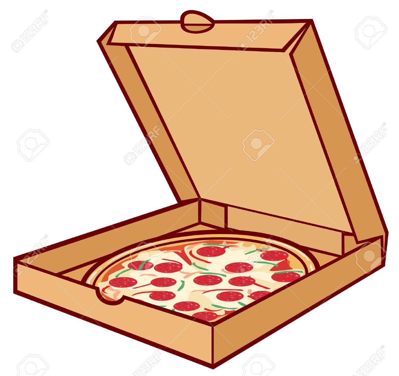 open pizza box clipart clipground. Black Bedroom Furniture Sets. Home Design Ideas