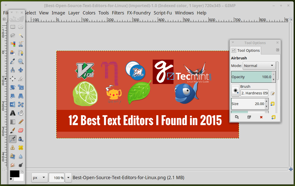 15 Best Linux Photo/Image Editors I Discovered in 2015.