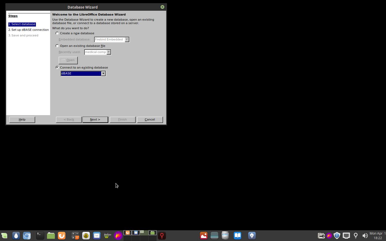 Open MDB files in Linux.
