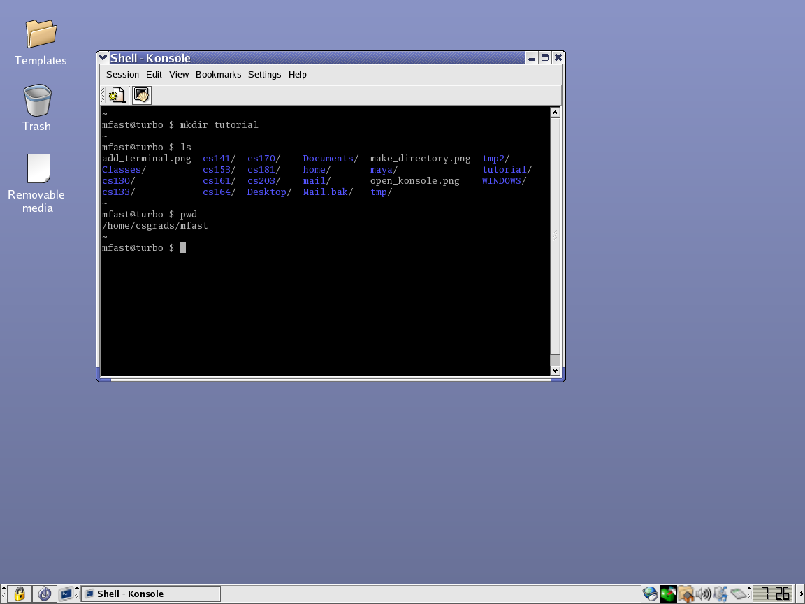 linux tutorial.
