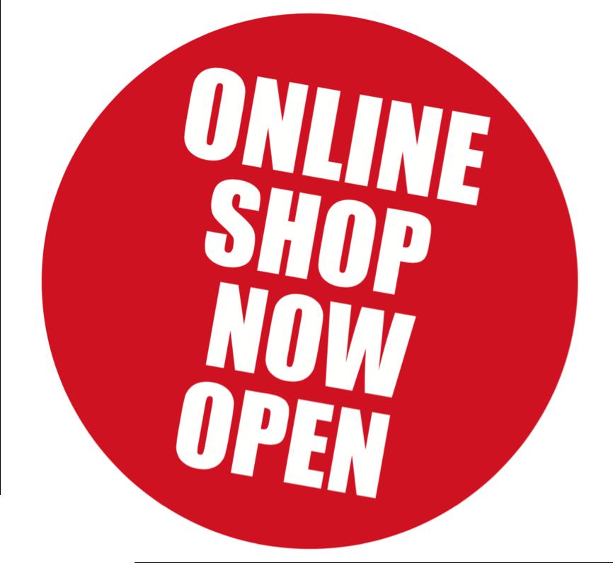 Online Shop Now Open.