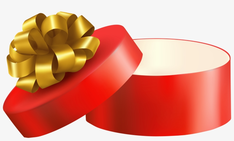Open Christmas Present Png.
