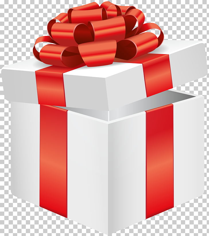 Gift , OPEN present PNG clipart.