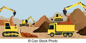 Quarry materials Clipart Vector and Illustration. 23 Quarry.