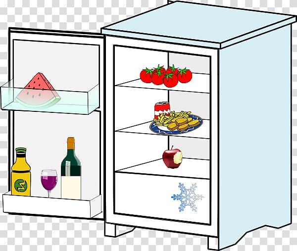 Refrigerator Scalable Graphics , Refrigerator Open.