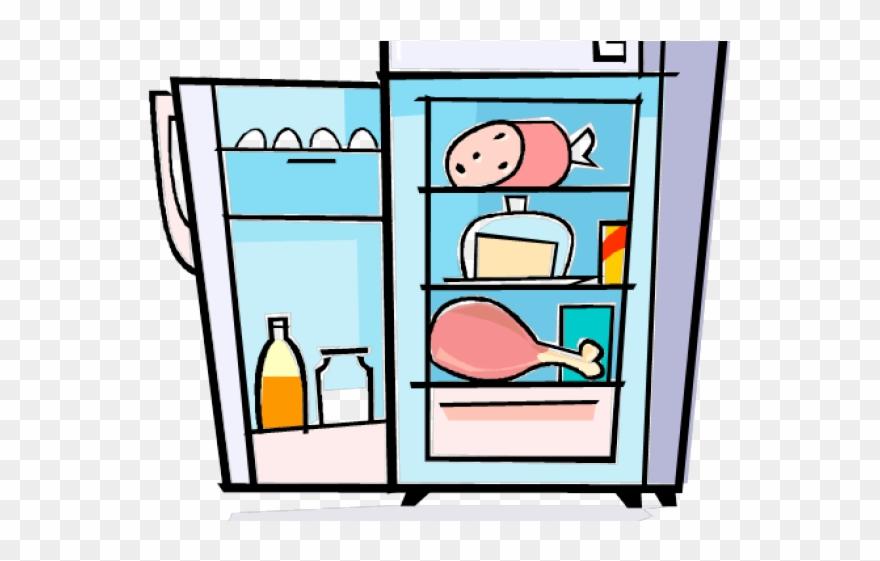 Refrigerator Clipart Cute.