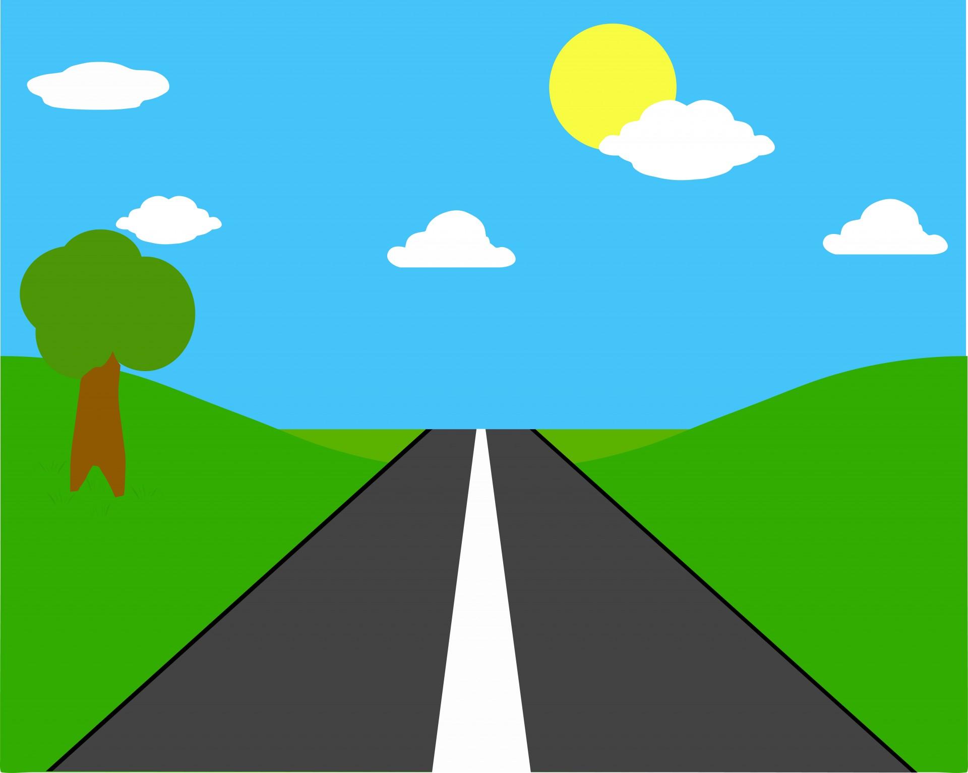 Open road throughuntryside free stock photo public domain.