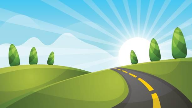 Open Road Cliparts 3.