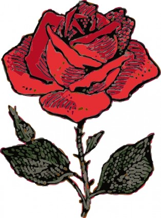 Roses rose clip art free vector in open office drawing svg svg.
