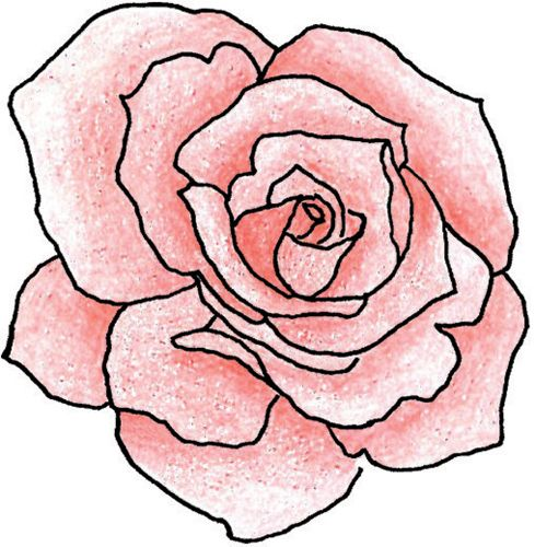 17 Best ideas about Rose Outline on Pinterest.