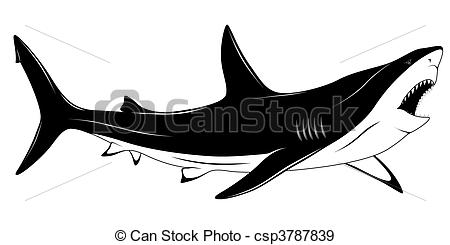 Shark Illustrations and Clipart. 8,274 Shark royalty free.