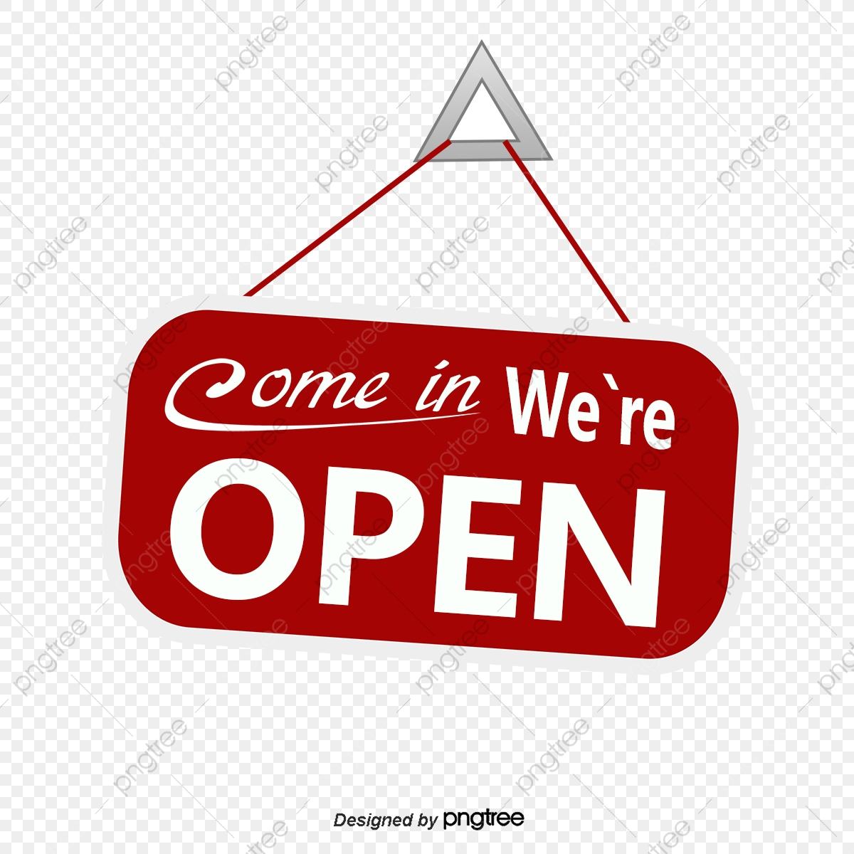 Shop Signs, Open, In Business, The Opening PNG Transparent.