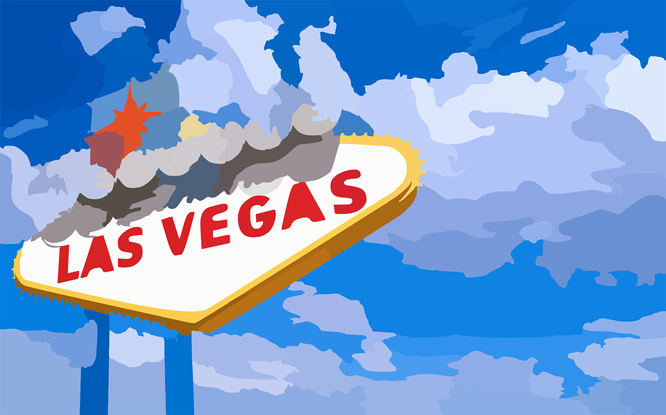 Free vector graphic: Las Vegas, Welcome, Sign, Open Sky.