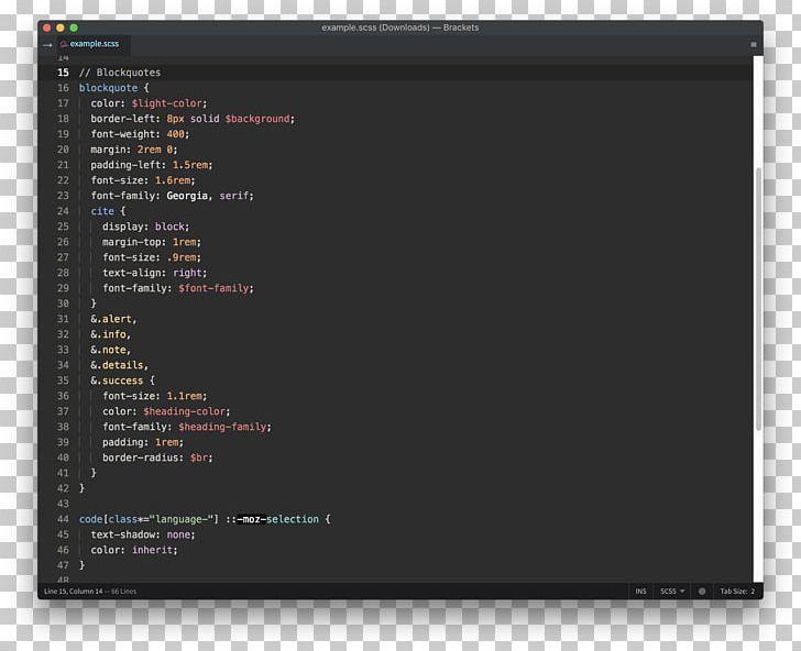 Brackets Source Code Editor Text Editor Open.