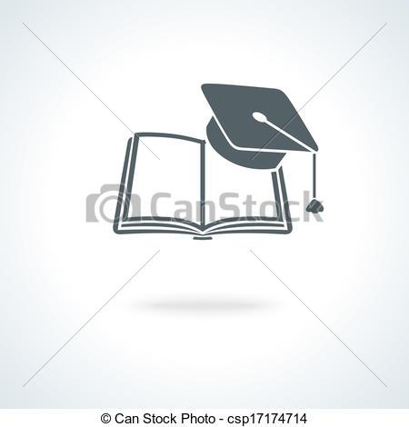 Open Book Academics Clipart.
