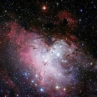 Free photo Eagle Nebula Ic 4703 Fog Open Sternhaufen.