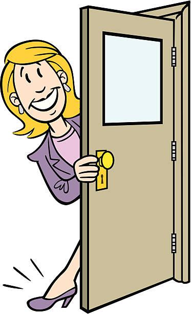 Opening Door Clipart.