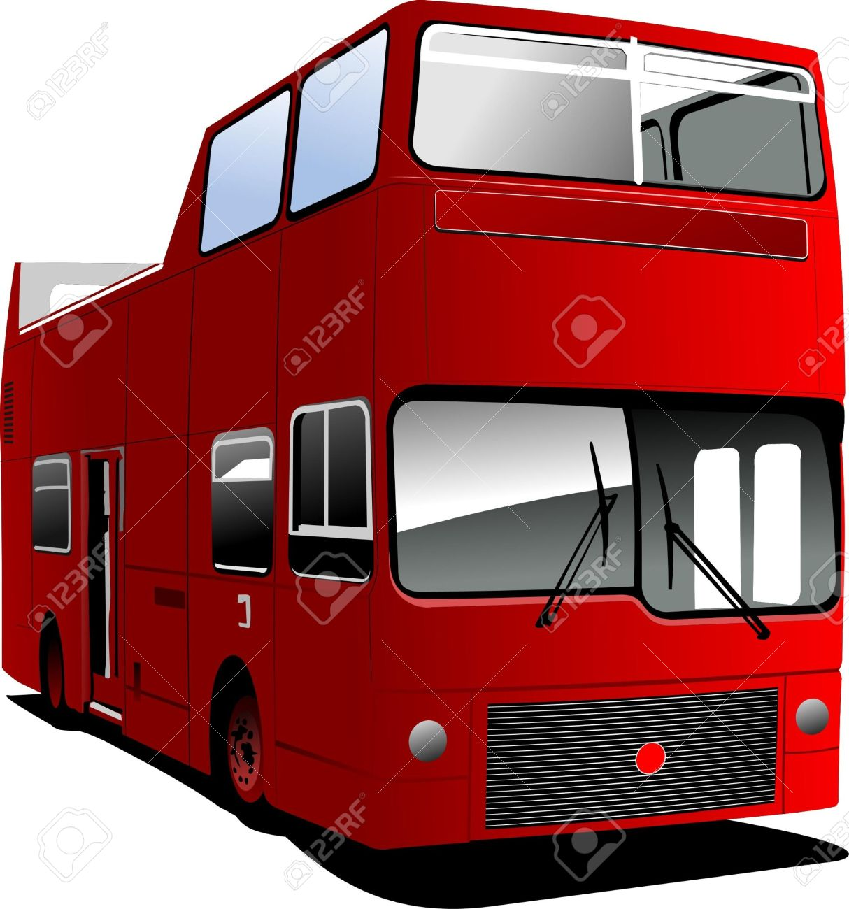 An Open Topped Tour London Bus Royalty Free Cliparts, Vectors, And.