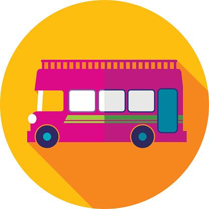 Double Bus Clip Art, Vector Images & Illustrations.