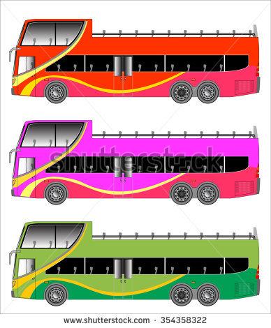 Open Top Bus Stock Photos, Royalty.