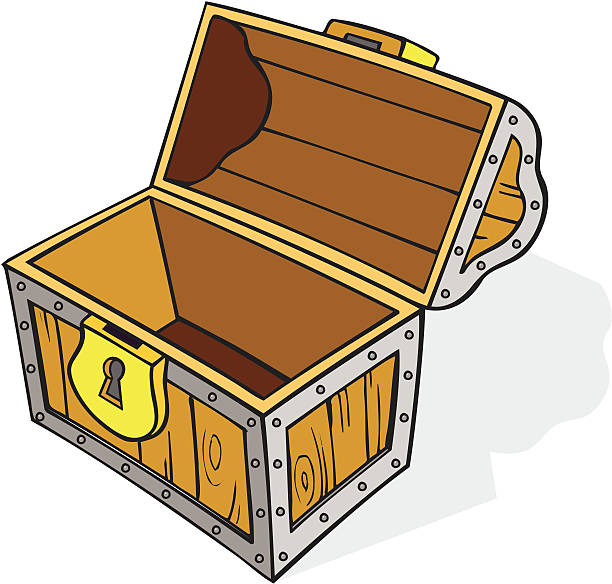 Treasure chest chest clipart empty pencil and in color chest.