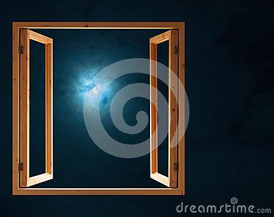 Window At Night.