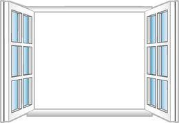 Open Window Clip Art.
