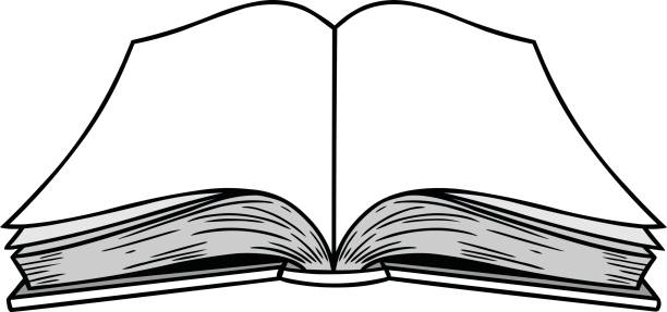 Opened book clipart 3 » Clipart Station.