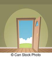 Open door Vector Clipart Illustrations. 11,361 Open door clip art.