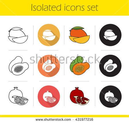 Halved Stock Vectors, Images & Vector Art.