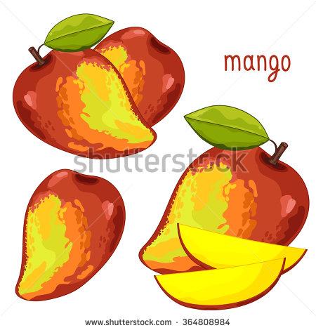 Mango Yogurt Stock Photos, Royalty.
