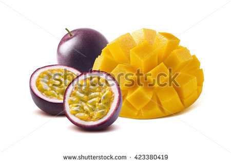 Passion Fruit Stock Images, Royalty.