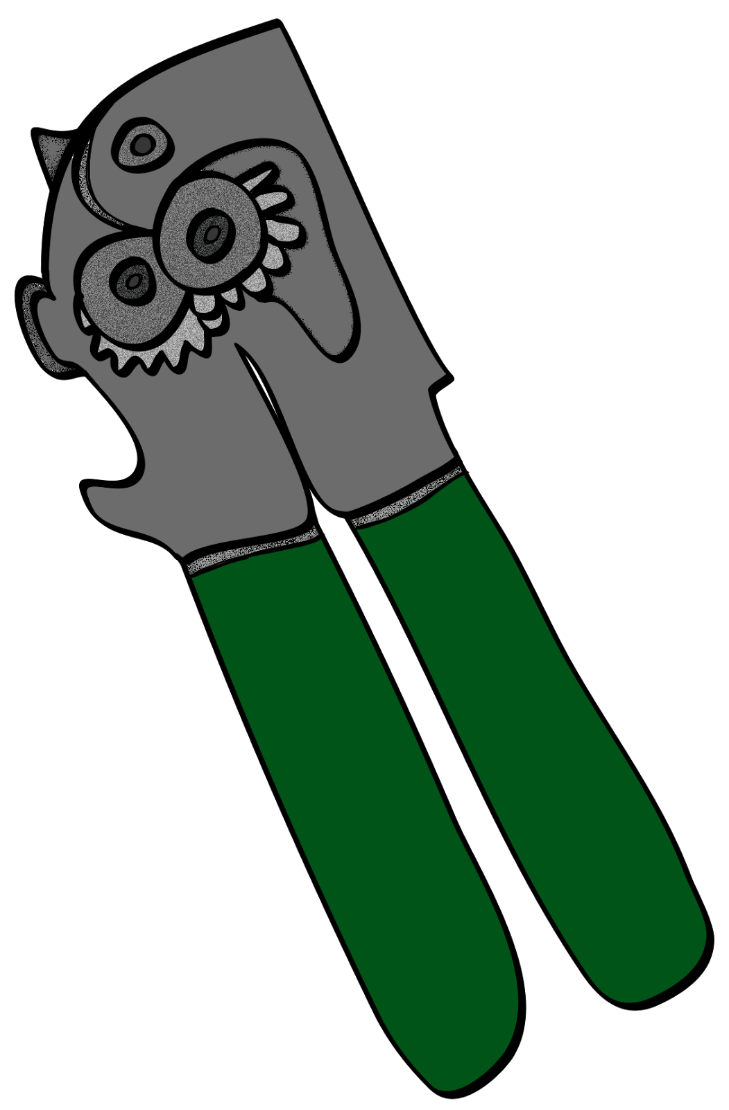 Similiar Clip Art Can Opener Keywords.
