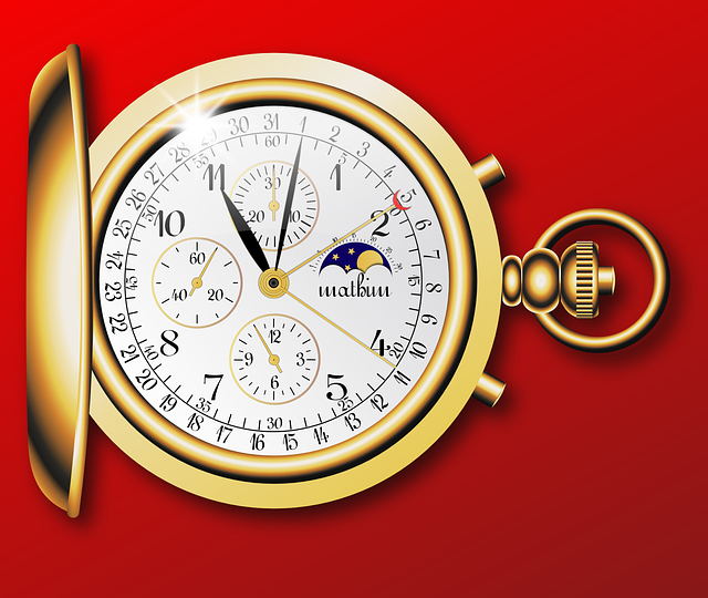 Free vector graphic: Pocket Watch, Fob Watch.